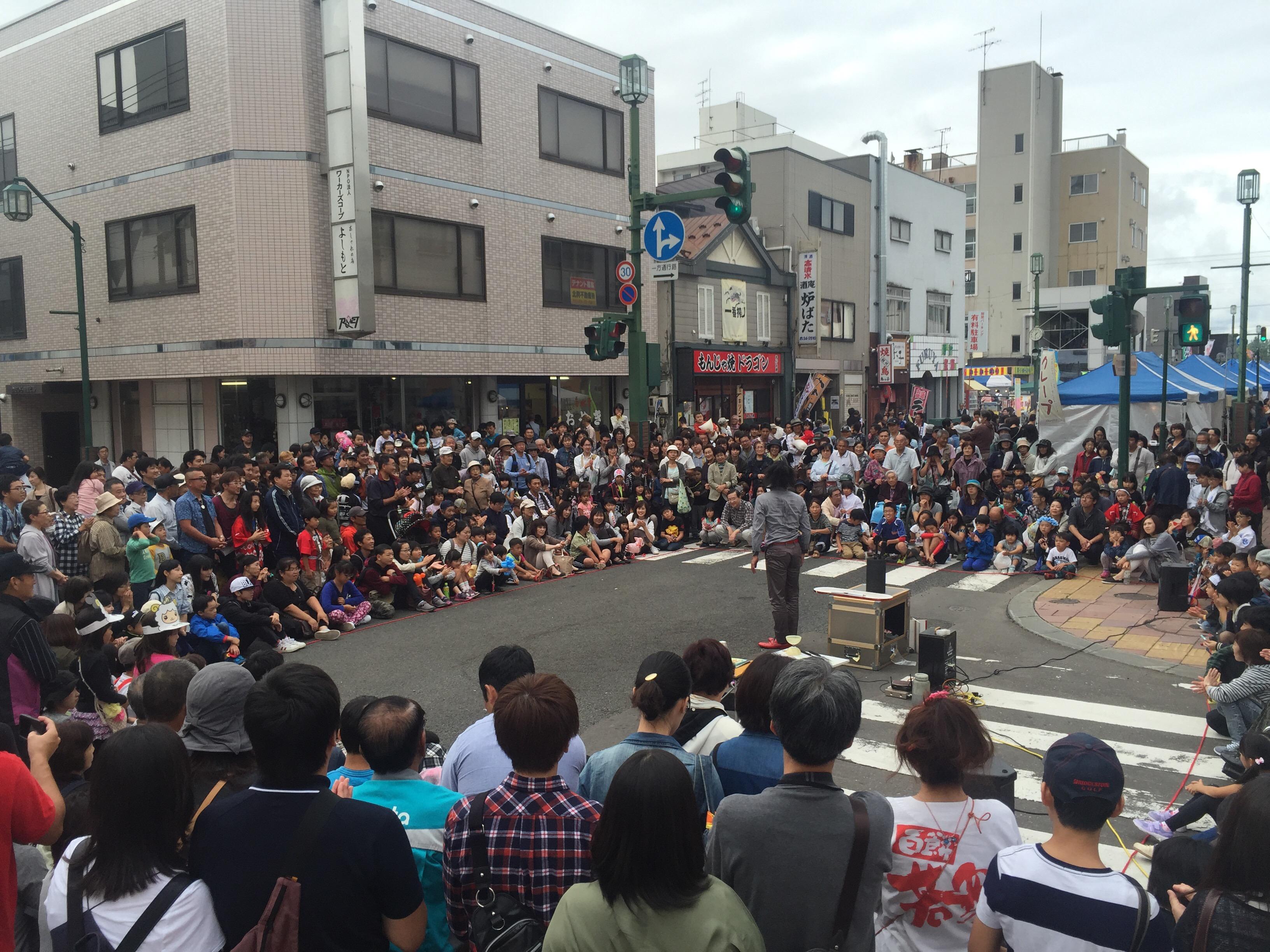 北海道岩見沢市百餅祭り!